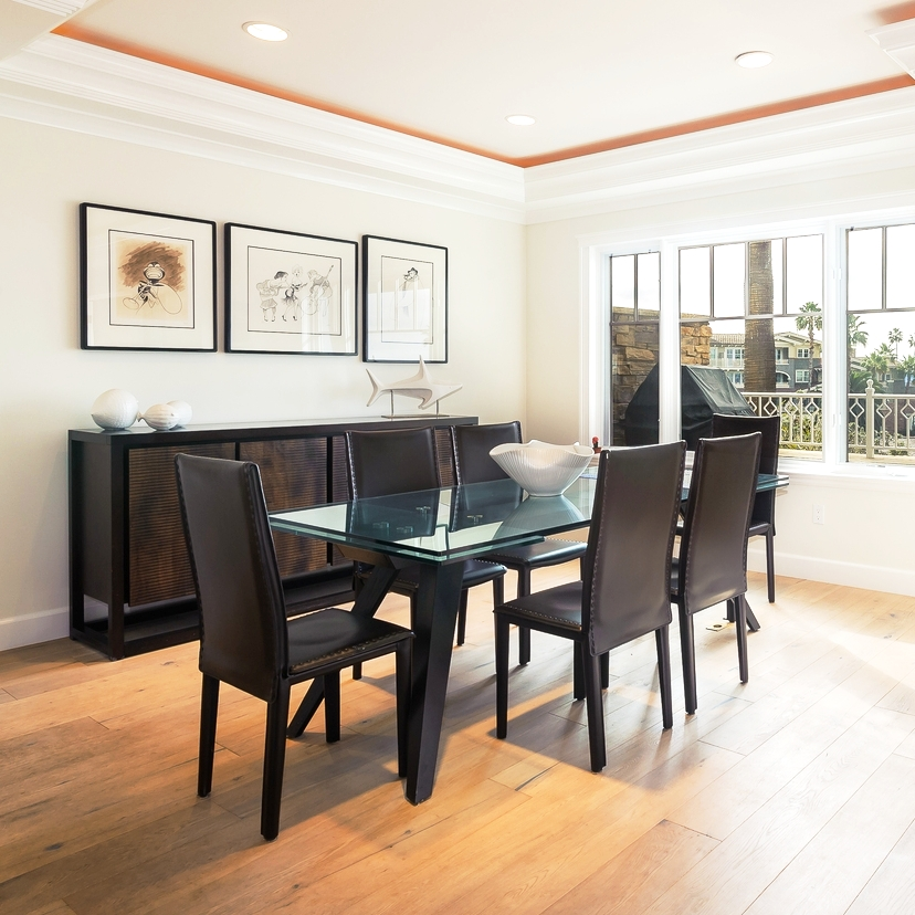 Staging - We offer services that include decluttering, rearranging, or bringing in and staging furniture and decor into a home so it sells quickly at the highest market value.