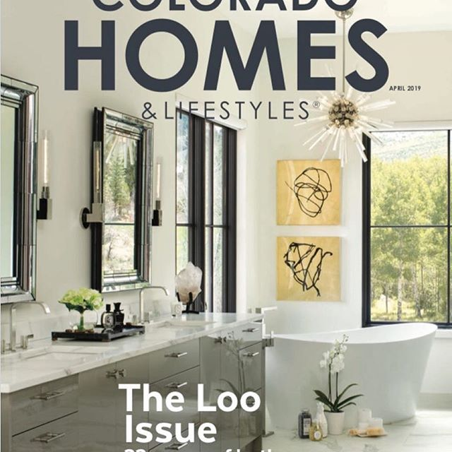 Thank you Colorado Homes and Lifestyles for the beautiful COVER and article on this amazing project. 🙏