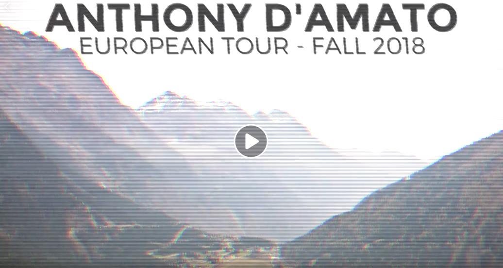 Anthony D Amato Tour