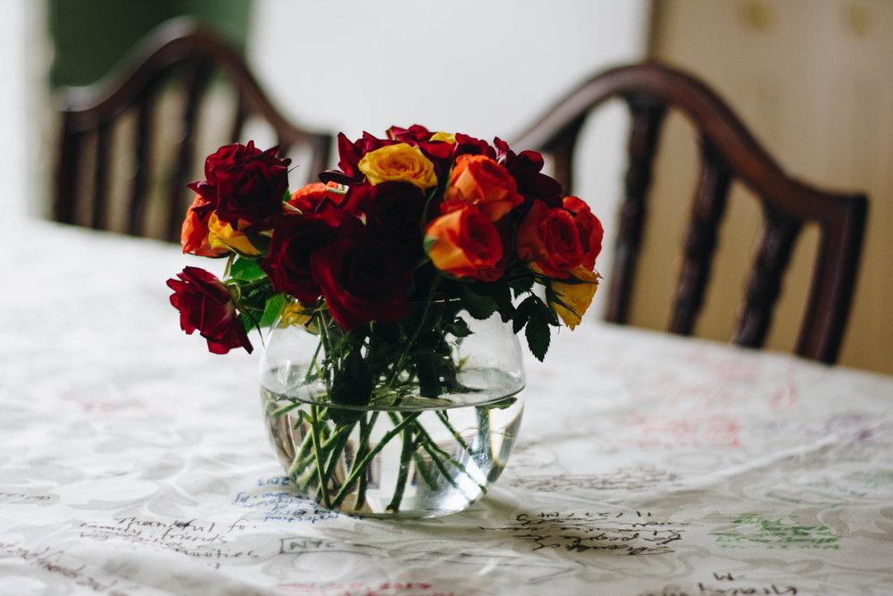 Roses | Wheaton, IL | November 24, 2016