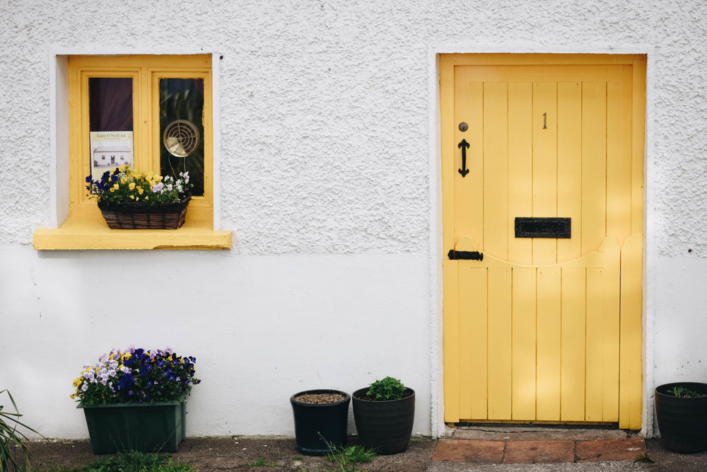 The Yellow Door | Dingle, Ireland | June 2016