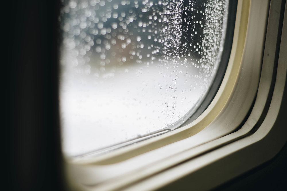 Rainy Flights | O'hare International Airport | 2016