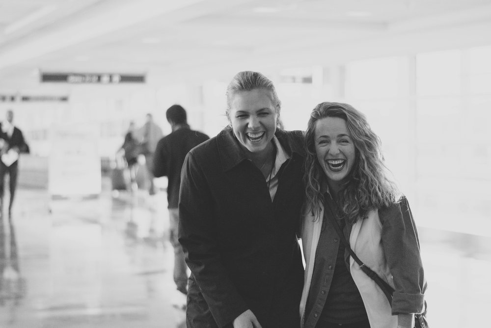 Best Friends | Reagan National Airport | December 5, 2016
