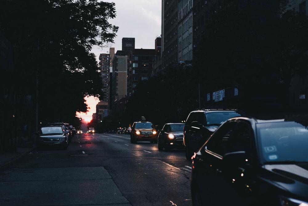 Manhattan Sunsets   New York, New York   July 2016
