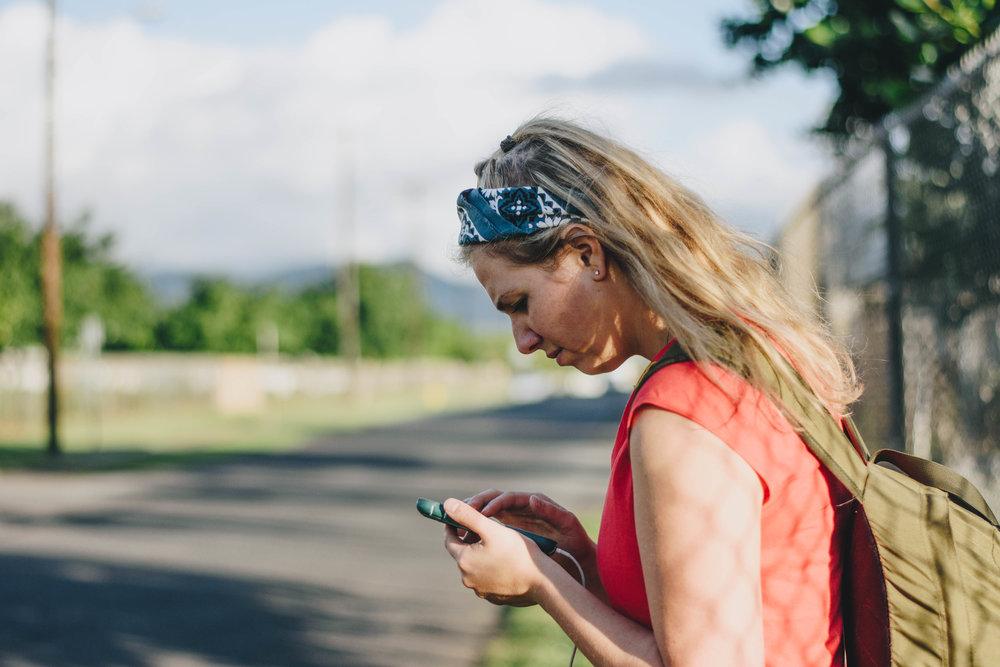 Modern Hitch Hikes   Honolulu, Hawaii   December 12, 2016