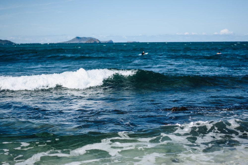 Wave Catching | Kailua, Hawaii | December 13, 2016