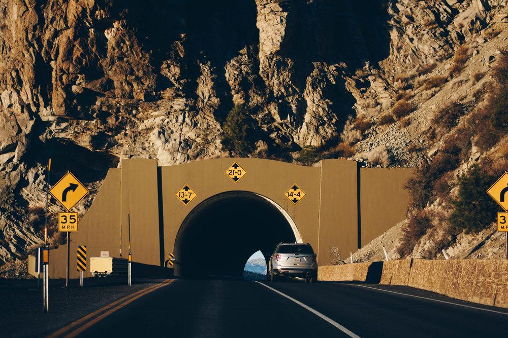 Tunnel Vision | Lake Tahoe, California | December 19, 2016
