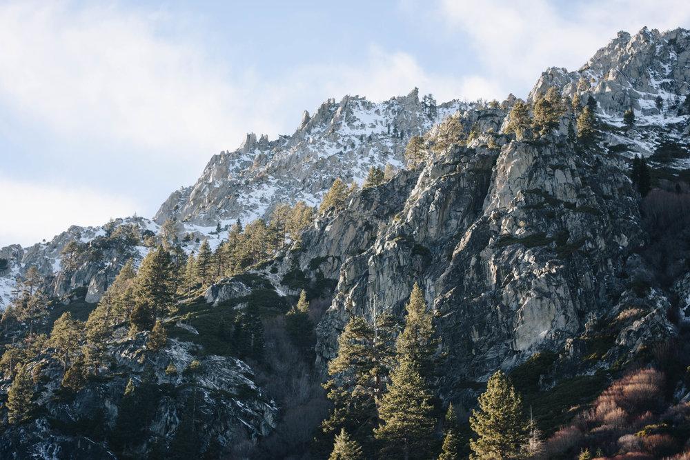 The Peaks   Lake Tahoe, California   December 18, 2016