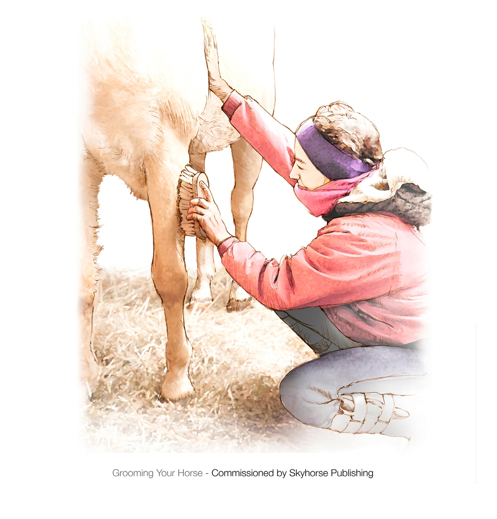 Grooming a horse.jpg