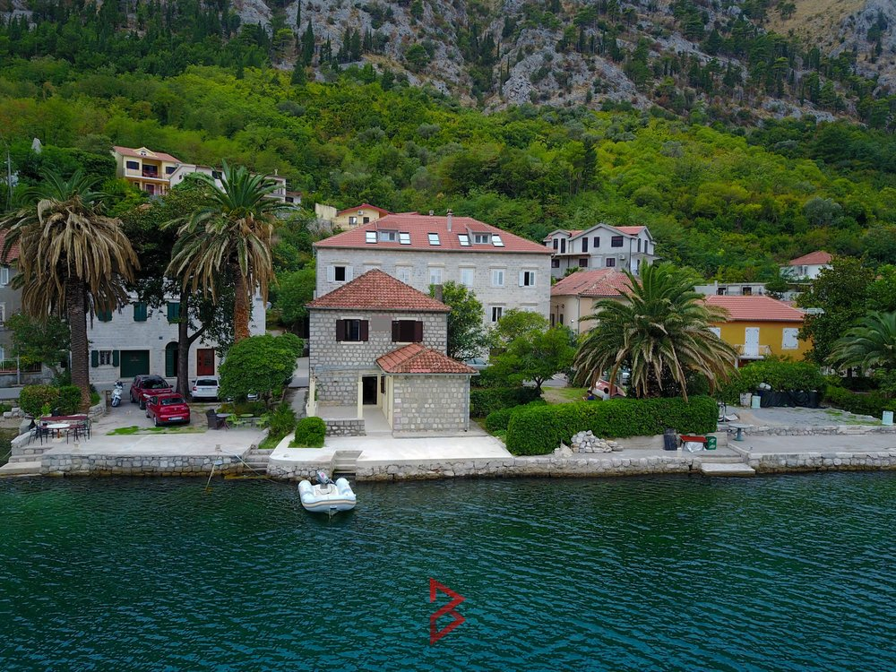 First line stone house for sale in Muo, Kotor