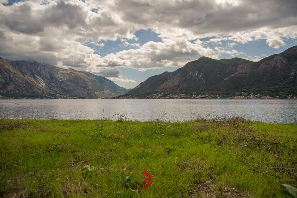 First line land for sale in Montenegro