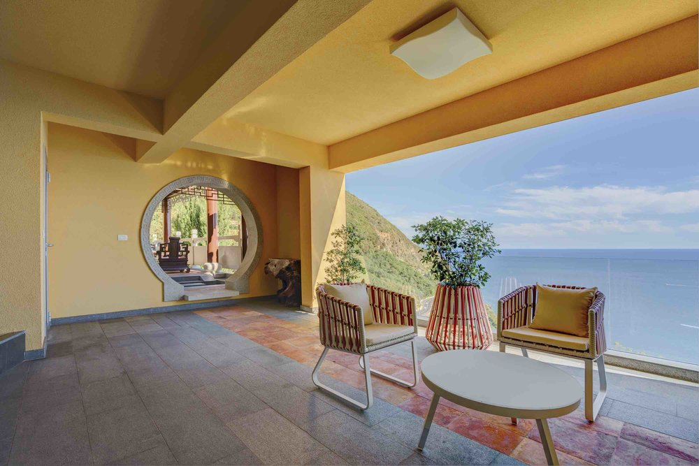 Villa with panoramic view in Budva