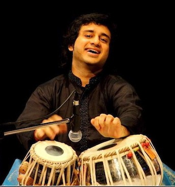 Mumbai-based tabla virtuoso  Aditya Kalyanpur  tours the world playing with the top level of Indian classical musicians. He was a child prodigy, studying tabla with the highest masters Alla Rakha and Zakir Hussain, and has worked with greats like A.R. Rahman (Slumdog Millionaire), Pandit Shivkumar Sharma, Shankar Mahadevan, Pandit Jasrajji, Larry Coryell, George Brooks, Kenwood Denard, as well as pop and rock artists from Katy Perry to Keith Richards. He founded the New England School Of Music in Boston along with the Shyamal Music Foundation in Mumbai.