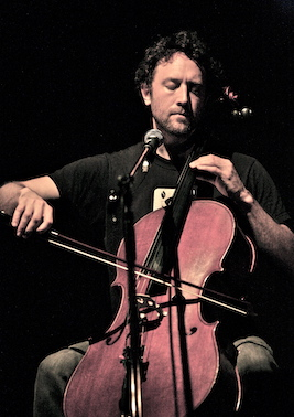Brent Arnold has released two albums of solo cello music, created the cello music for the show Louie, and is a founding member of Ghost Quartet with Dave Malloy. He has worked with artists including the Antlers, Reggie Watts, Eyvind Kang, Filastine, Baby Copperhead and Lullabies for Falling Empires. He studied with violinist Michael White (Pharoah Sanders, John Handy) and cellist Walter Grey (Kronos Quartet).