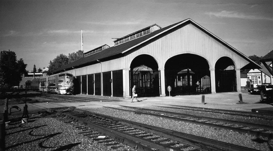 Central Pacific Passenger Depot, now Railroad Museum, Sacramento