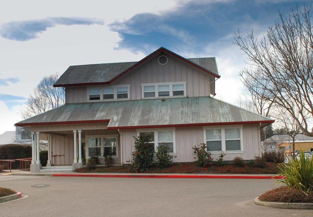 Gravenstein Station Peace in Medicine building 6771