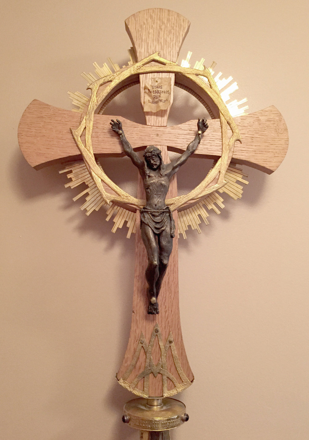 St. Lawrence Center's Processional Cross