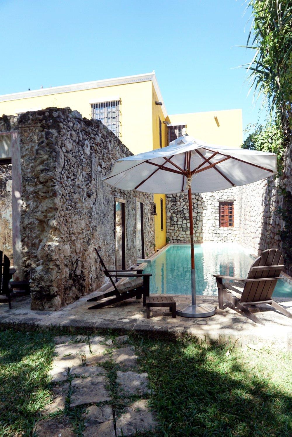 Pool at Hacienda Puerta Campeche