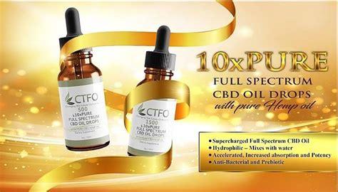 My CBD Choices | CTFO 10x Pure Hemp Oil
