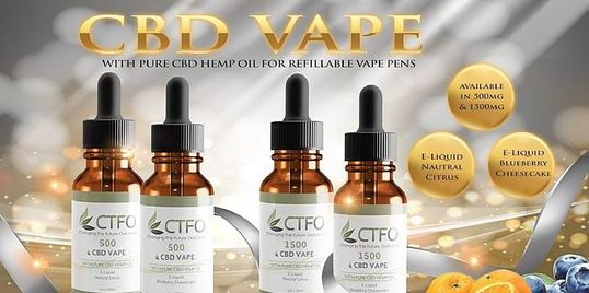 My CBD Choices CTFO CBD Vape Hemp Oil