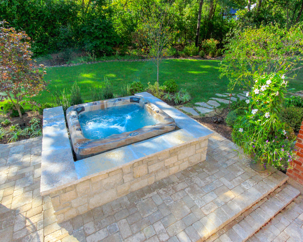 next privacy andin contemporary trees stairs tubs alongside in to stone tub shrubs for backyard landscaping marvelous inexpensive hot ideas pool waterfall remodeling ground traditional with above beautiful and
