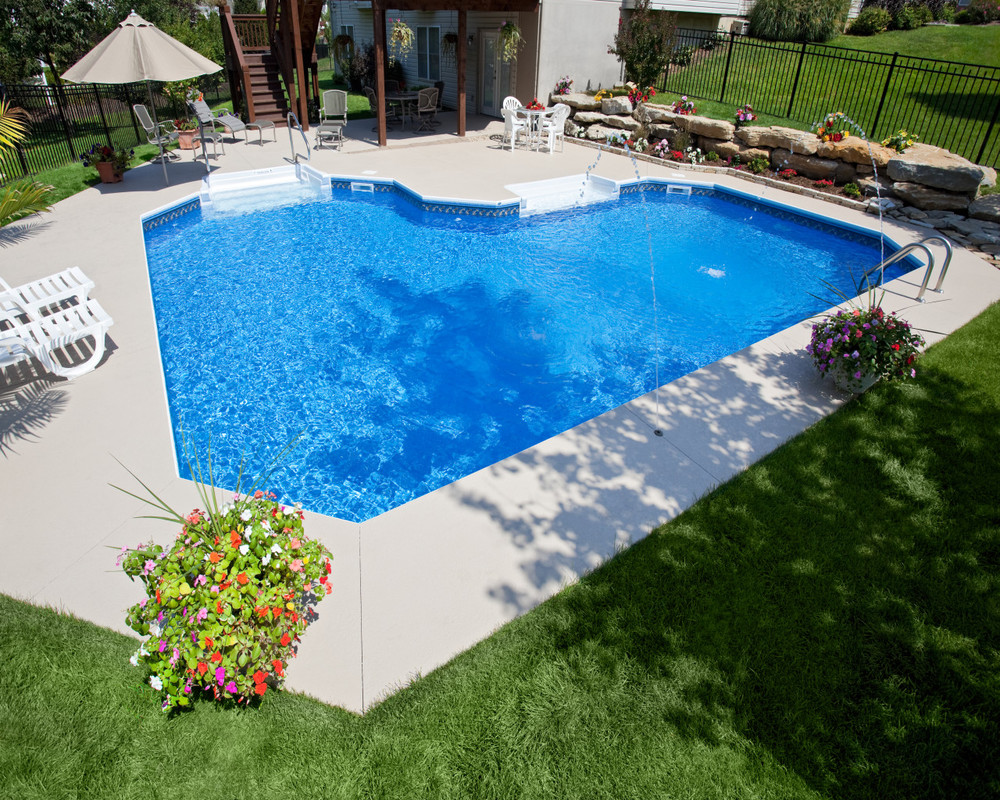 Walk In Pools More Vinyl Liner Pools Prestige Pools Spas