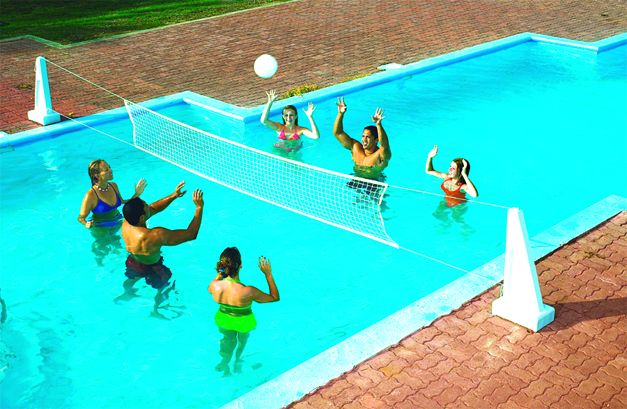 Pool Jam Combo Volleyball & Basketball