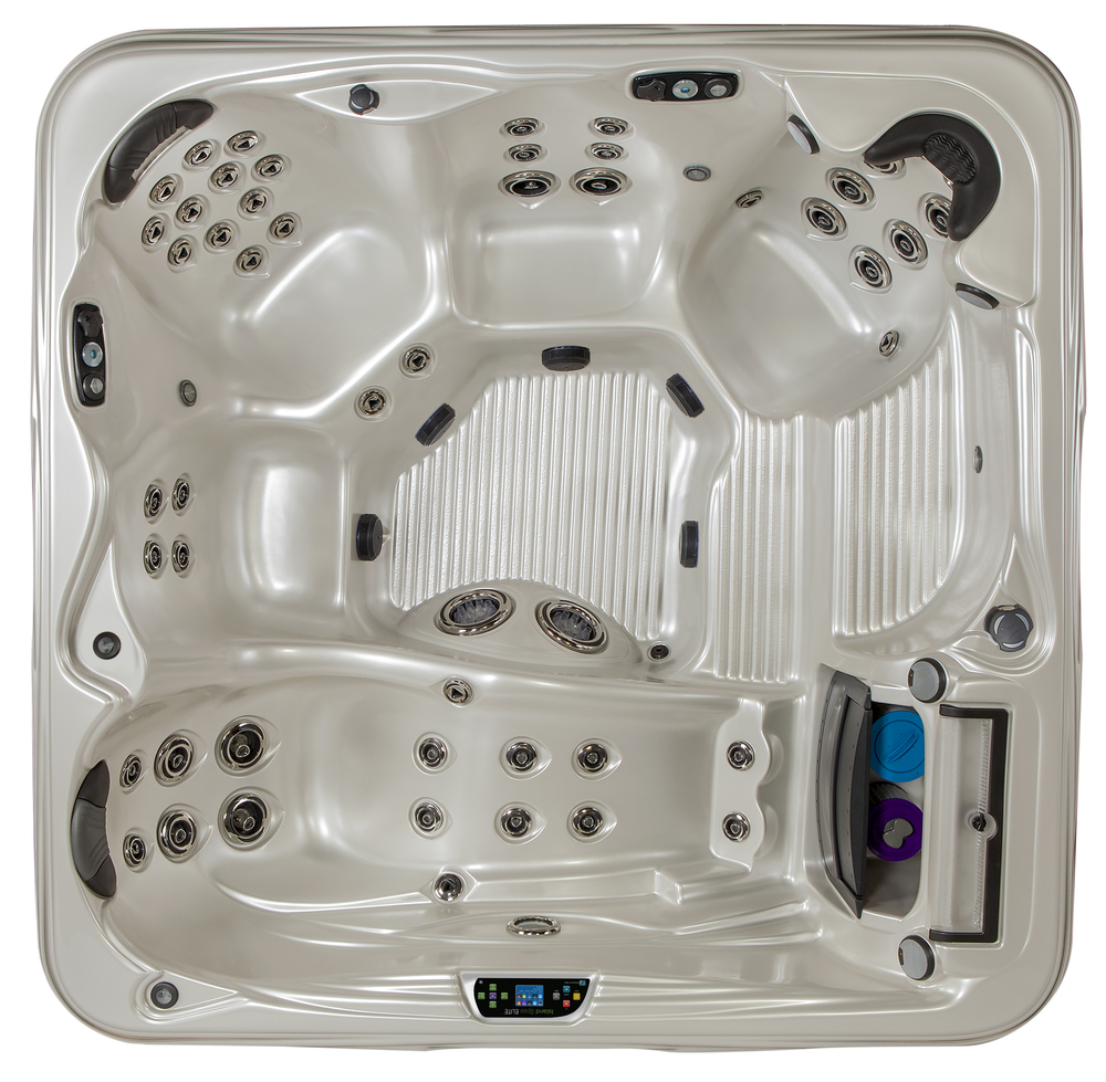 The Antigua Elite 7' Hot Tub by Island Spas available at Prestige Pools and Spas