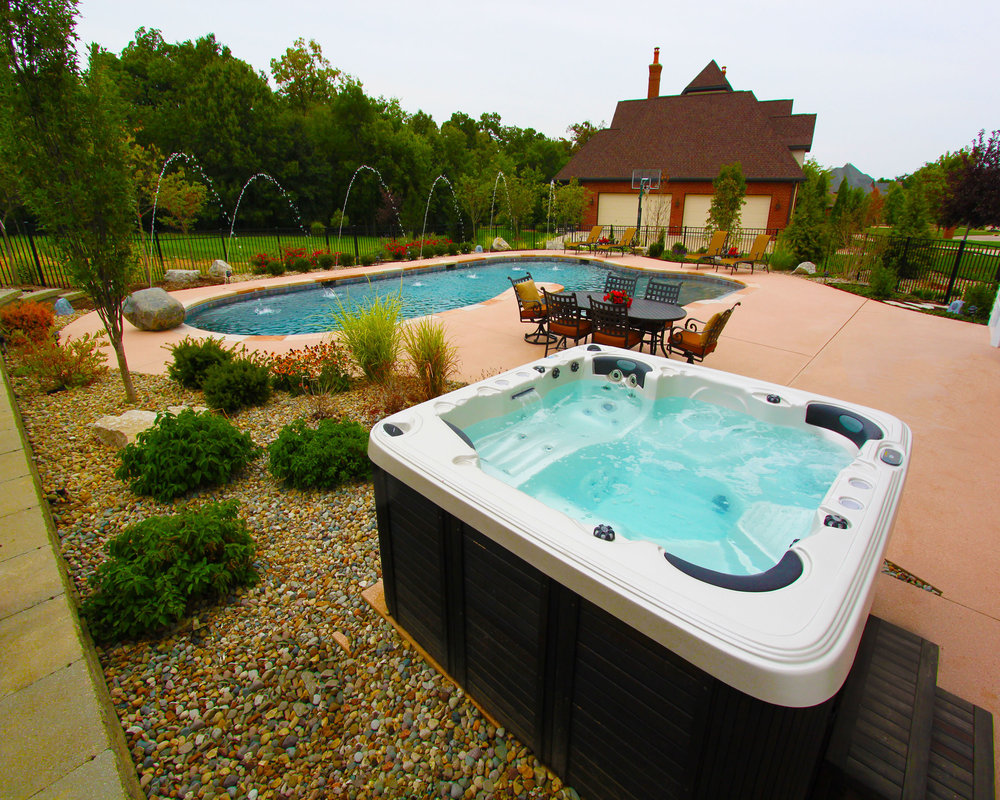 Or enhancing your pool party with an area for the adults to enjoy?