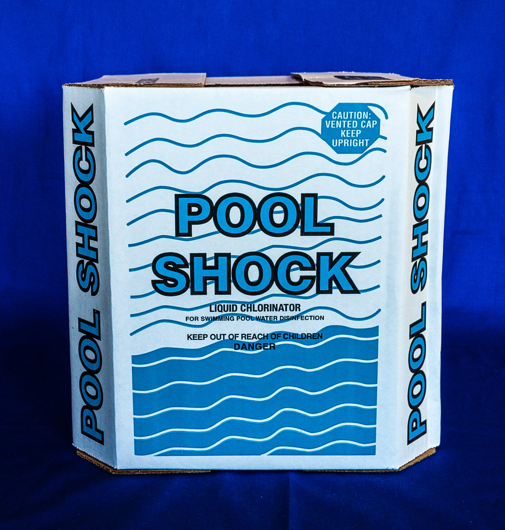 Most liquids like Majestic Blue (pictured on left) have a shelf life of up to 2 seasons, with being used up in the first season preferred.  Liquid Pool Shock (pictured above) has a shelf life of only 90 days.   Be sure to know the lifespan of your products to maximize the preformance of your water chemistry products.