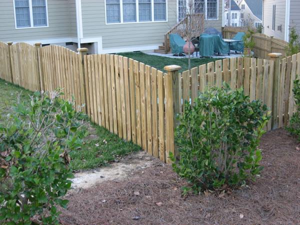 Picket Fences Nashville Fence Deck Nashville Fence Deck