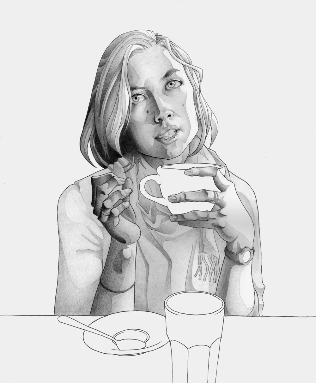 Französisch Kaffee