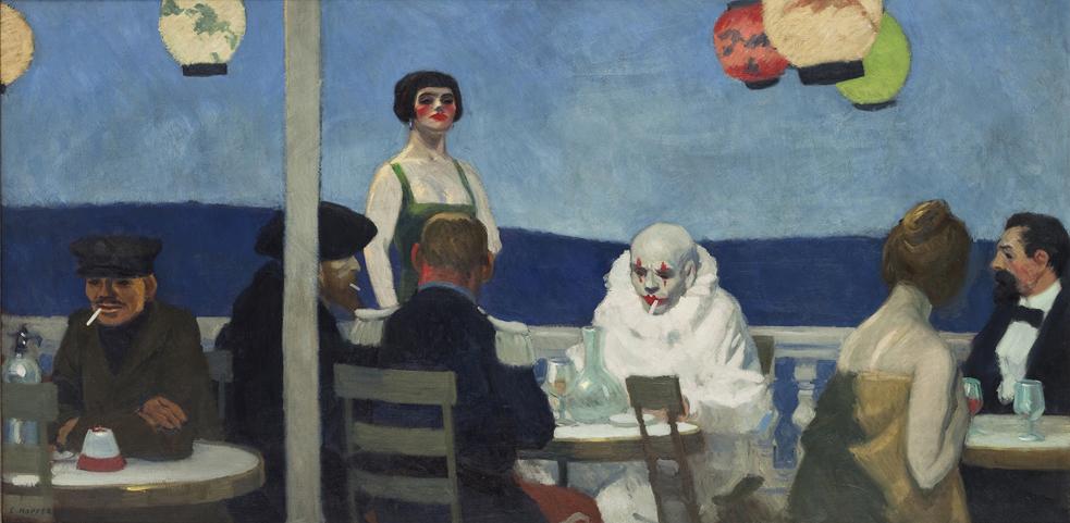 Soir Bleu , 1914