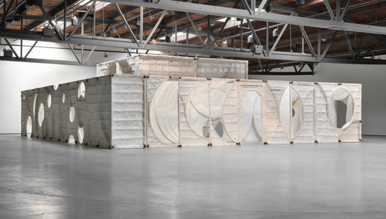 Thomas Houseago,  Moun Room  (installation view), 2013—2014