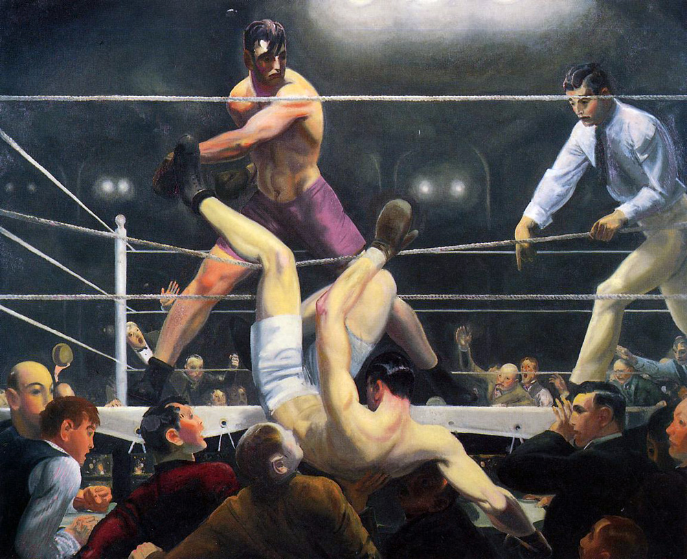 George Bellows,  Dempsey and Firpo , 1924