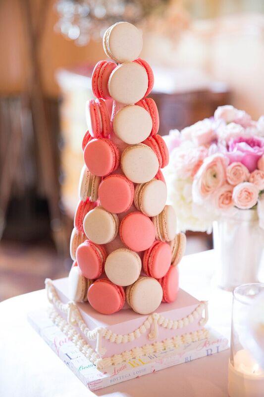 Macaron Tower by  Bottega Louie