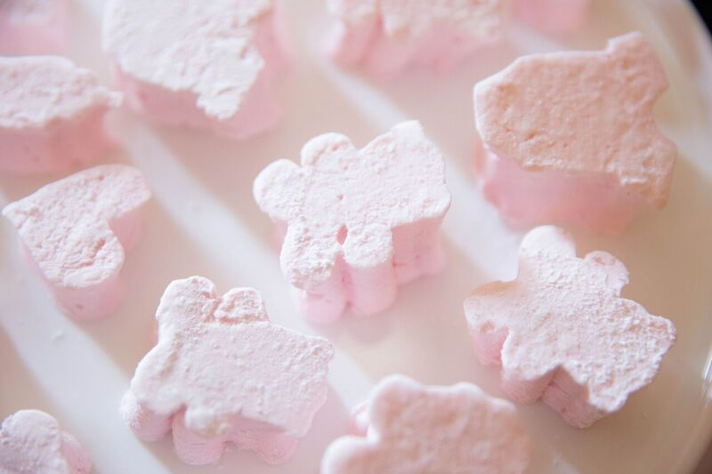Homemade marshmallows by  a little favour