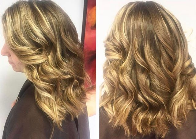 Cut and color by Fary and styling done by Callie! Amazing look by our talented #eclipsmclean hair stylists. Book your appointment to start getting Spring & Summer ready with us!