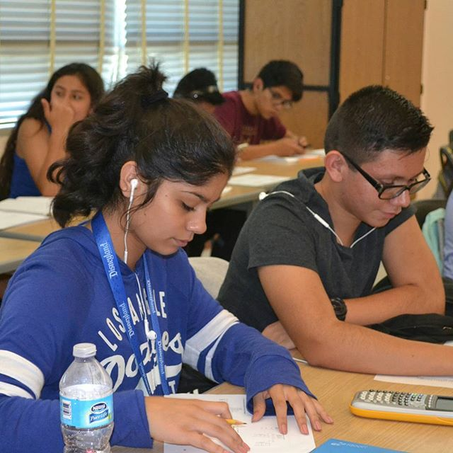 This summer our students excelled in math courses through our partnership with the Jaime Escalante Program. This program prepared students to advance to the highest level of mathematics. #summerofcaring #Educarefoundation