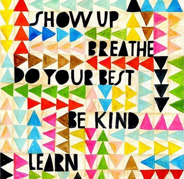 Take a step back and breath. HAPPY Friday Fam! #WeGotThis #Dreamer #BeKind 🎨: @lisacongdon