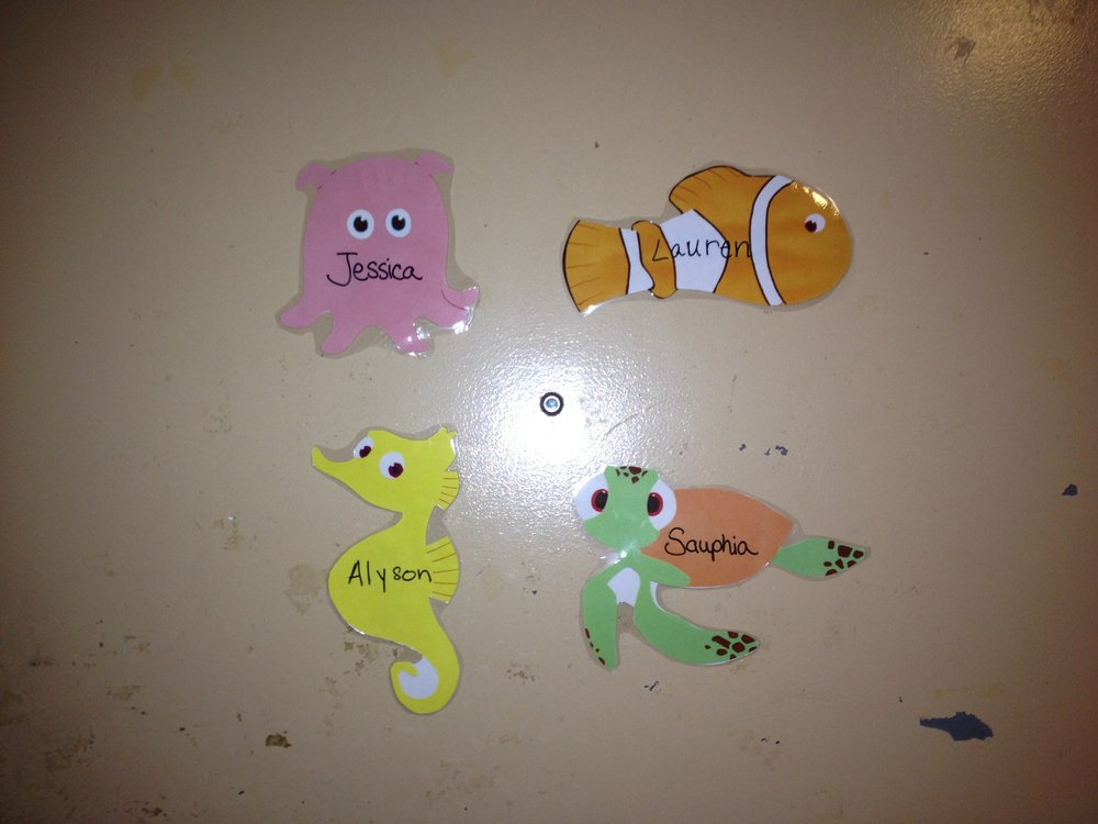 Finding Nemo Ra Decorations With Printouts Kristen Marina