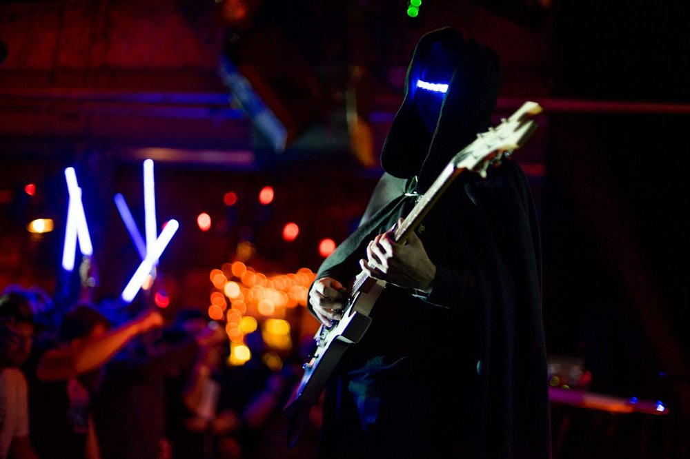 Magic Sword on the Treefort Music Fest stage at Tractor Tavern - Photo: Travis Trautt