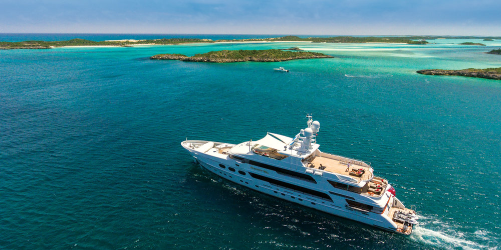 Embark on the luxury vacation of a lifetime onboard 162' MY Remember When.