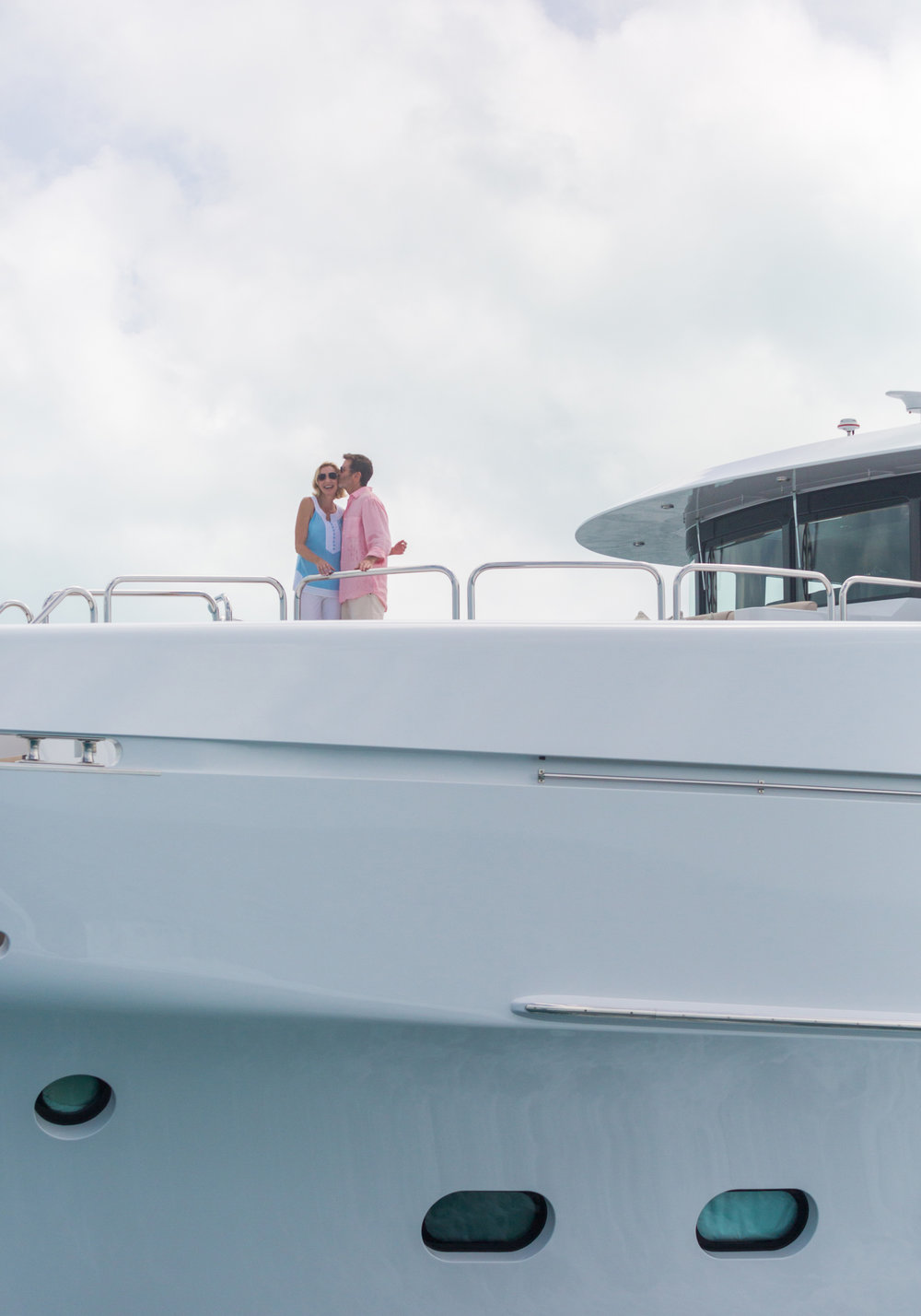 Live the romance of a luxury yachting vacation