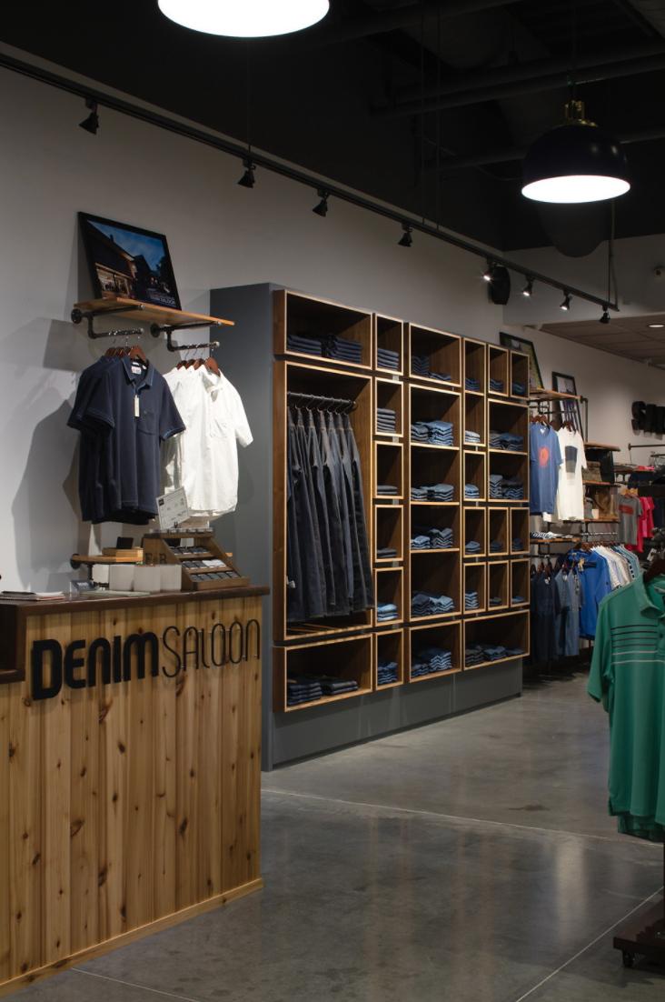 DENIM SALOON