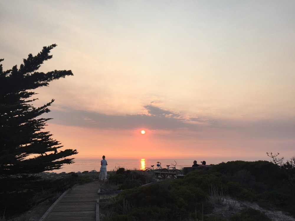 Sunset at Asilomar State Park. 2017. Credit: AJ Joven