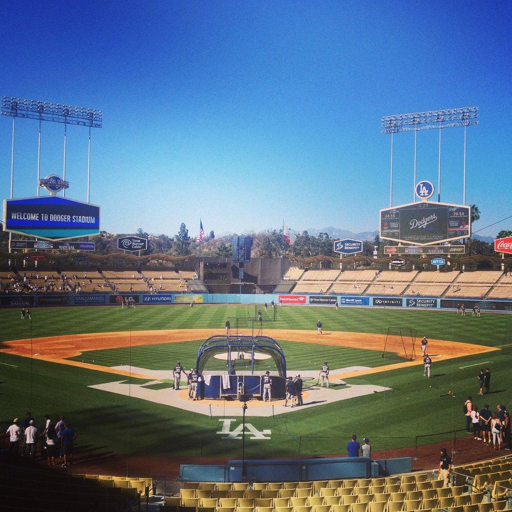 Dodger Stadium. August 2014. Credit: AJ Joven