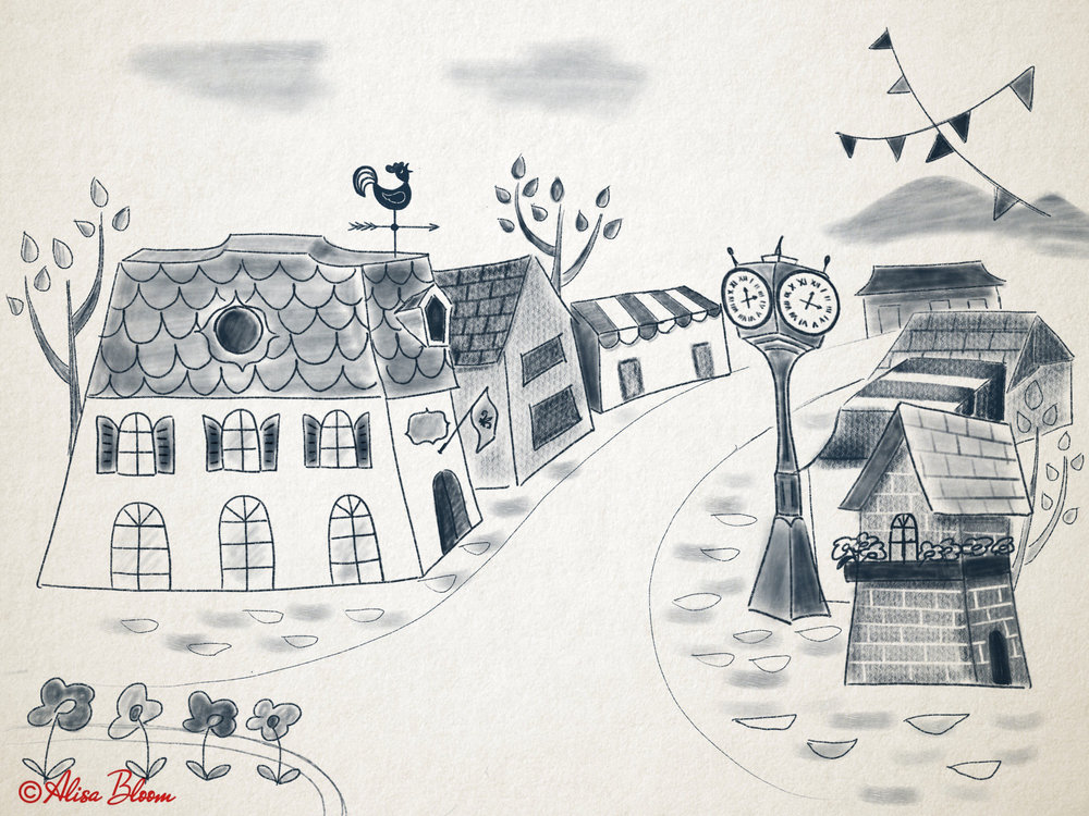 picture book-study-sketch-town.jpg