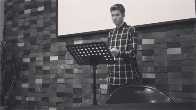 Last night Matt Woda, one of our Student Leaders, shared a project he did on the Bible and why we can trust it. Check out the link in our profile!