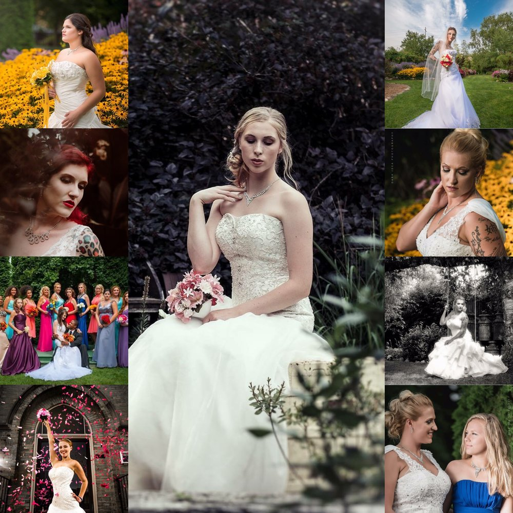 Bridal Parties!!!   On-Site Availability! Call 262-484-4541  to set up a Meeting!  Photographers recommended: Andrew Herman Photography  Dark Image Photography